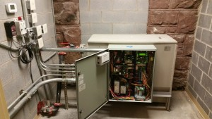 elevator modernization of power unit and controller