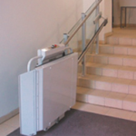 Savaria inclined platform lift