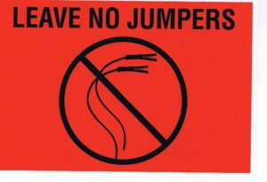 Leave no jumpers