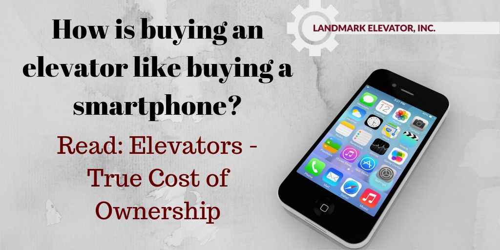 How is buying an elevator like buying a smartphone