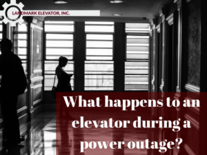 elevator during a power outage